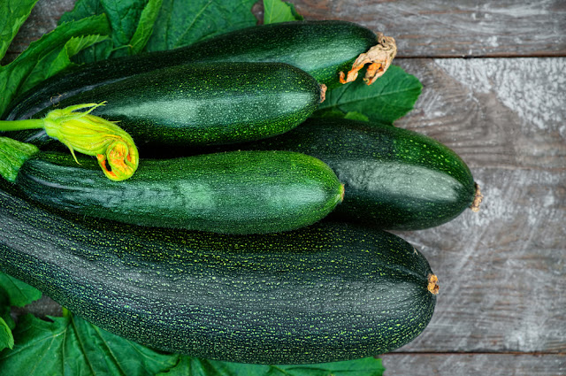bundle of zucchini