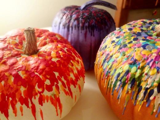 No Carve Pumpkins Halloween