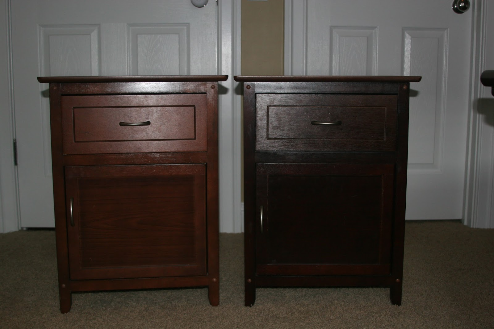 Sanders Life And Times Upcycled Bedside Tables