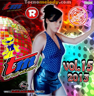 Cd Top Melody O Original 2013 Vol.15 - Dj Blackmix