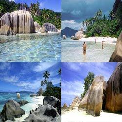 La Digue Island in Seychelles