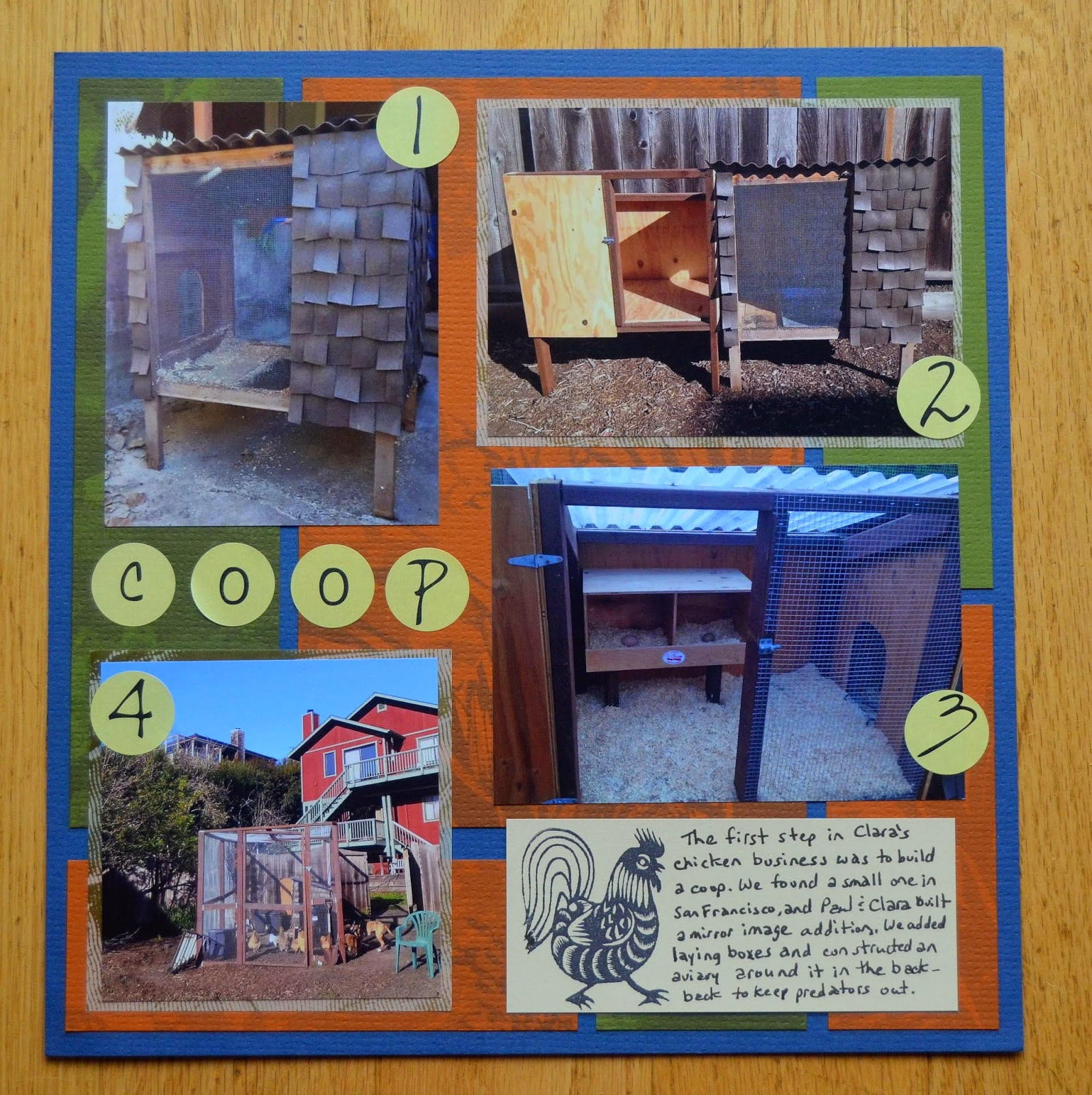 How to start scrapbook business - They Are Somewhat Related In That Clara Did Start Her Egg Business As Part Of Ffa The Subject Of The First Layout
