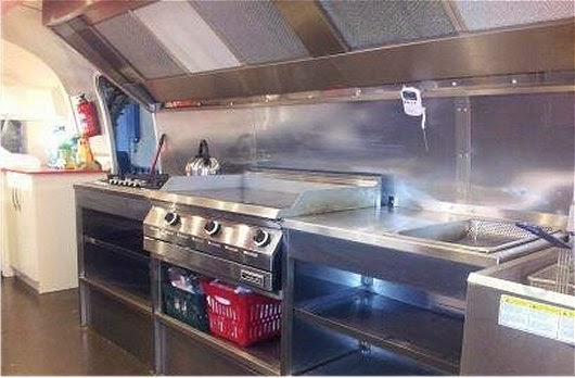 The AirStream Trailer Is Fully Health Board Approved And A Beautiful Piece Of Kitchen Space It Really Pleasure To Work In Eye Candy Too