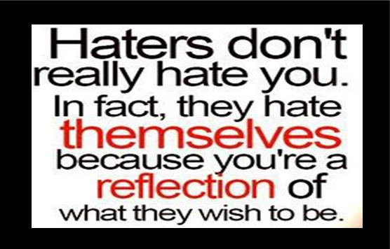 Quotes About Haters savvy-quote-hat...