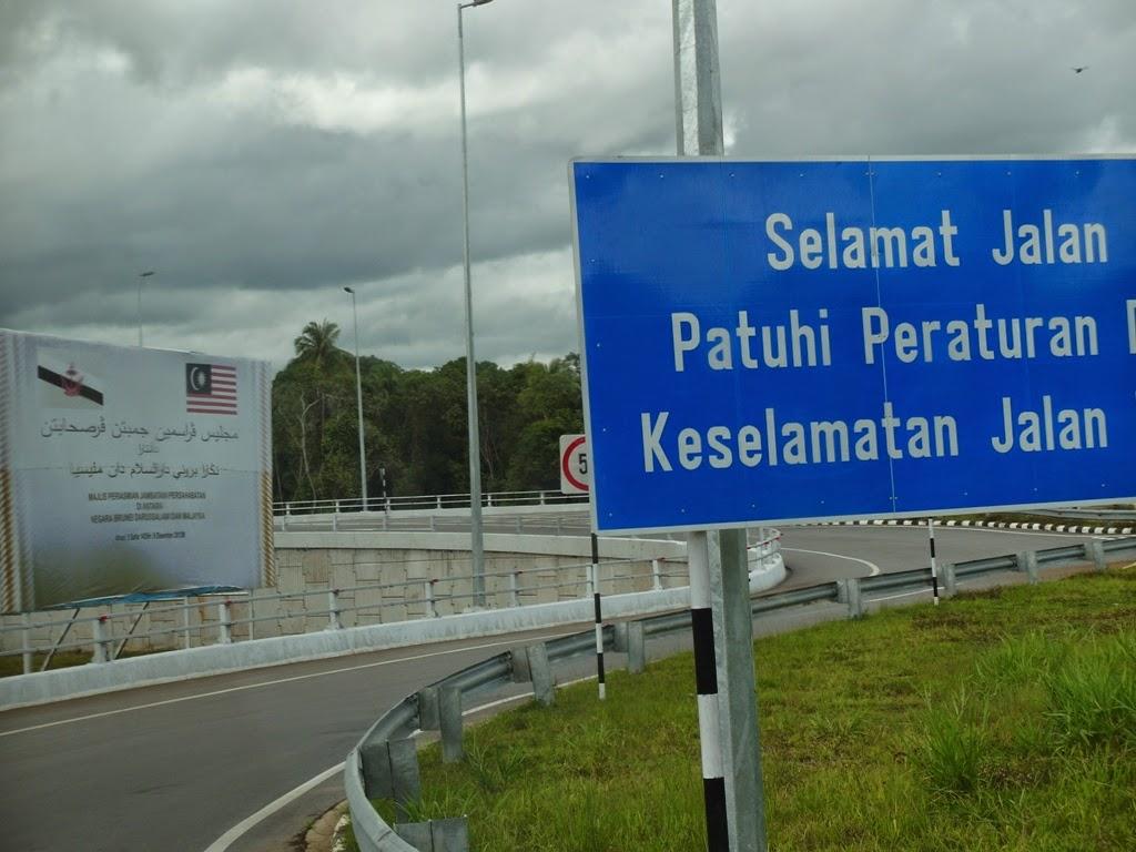 Jambatan persahabatan brunei temburong malaysia limbang