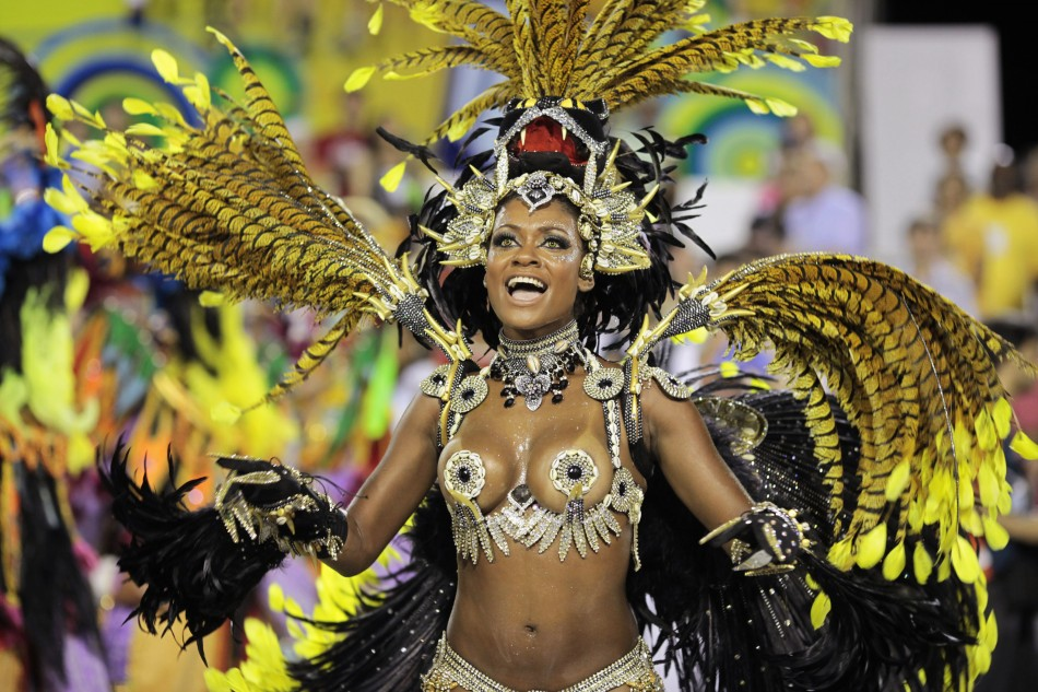 Hot Rio Carnival of The 2012 Rio Carnival