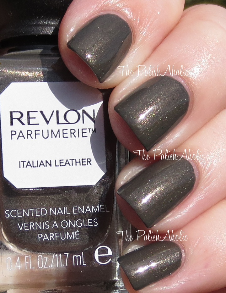 The PolishAholic: Revlon Parfumerie Fresh Linen & Italian Leather