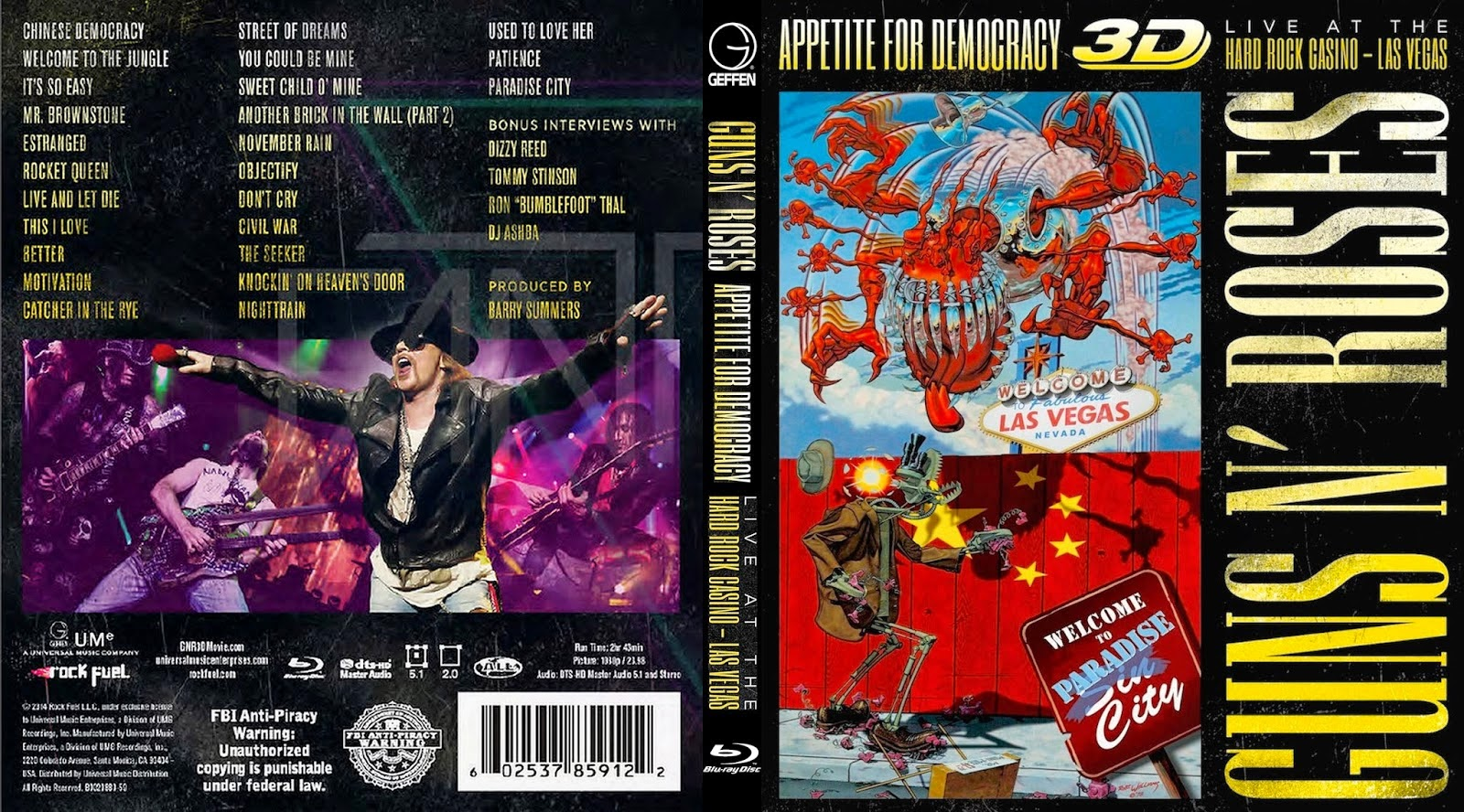 Guns and Roses - Appetite For Democracy