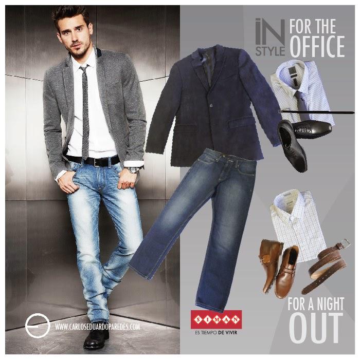 Outfit Zapatos Cafes Hombre