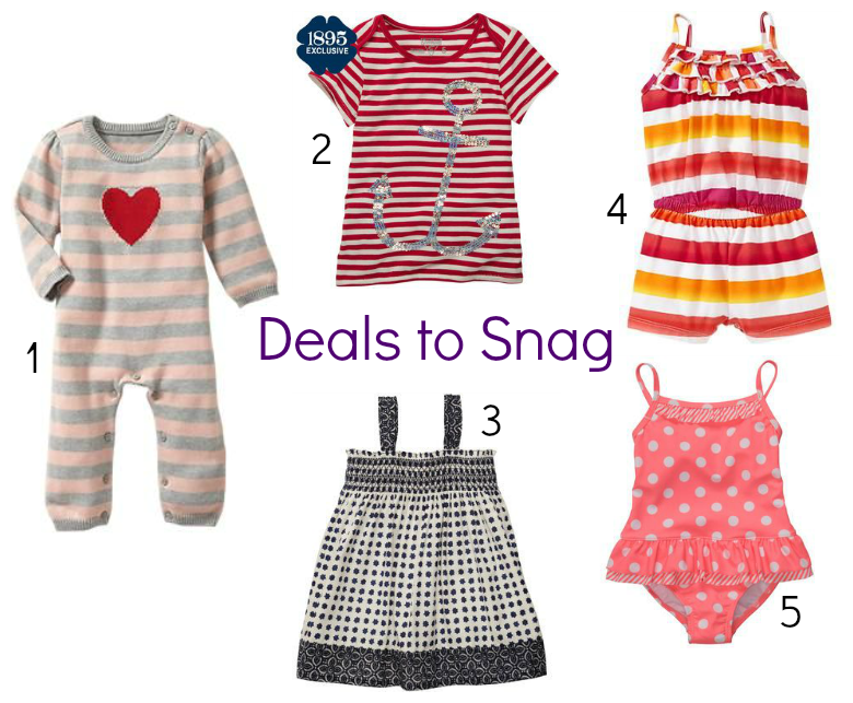 summer styles for baby girl at clearance