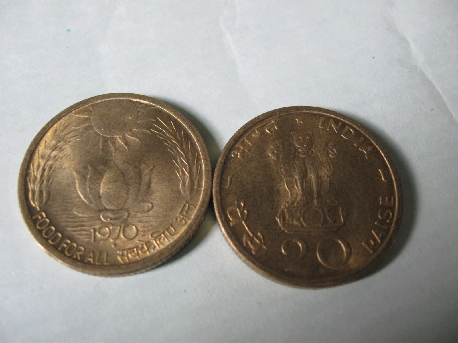 MY Rare old coins collection -for sale: FOR DECENT PRICE: 20 Paise ...