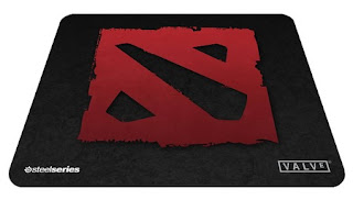 SteelSeries QcK DotA 2 Edition mouse pad