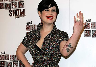 Tatuagem da Kelly Ousborne