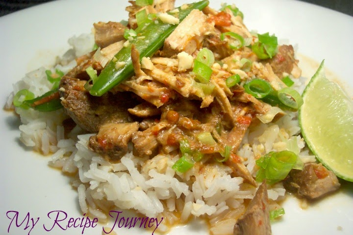 Easy Crockpot Thai Pork