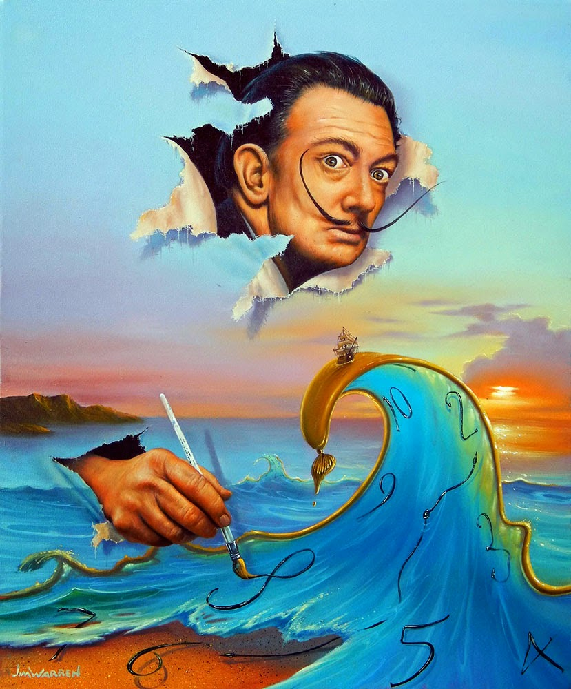 05-If-Dali-was-God-Jim-Warren-The-Surreal-Art-of-Dreams-www-designstack-co