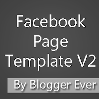 Facebook Page Template V2 By Blogger Ever
