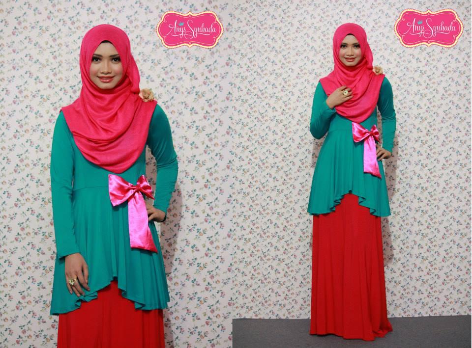 Inspire new style baju raya / baju kurung 2013. *minniemouse boutique
