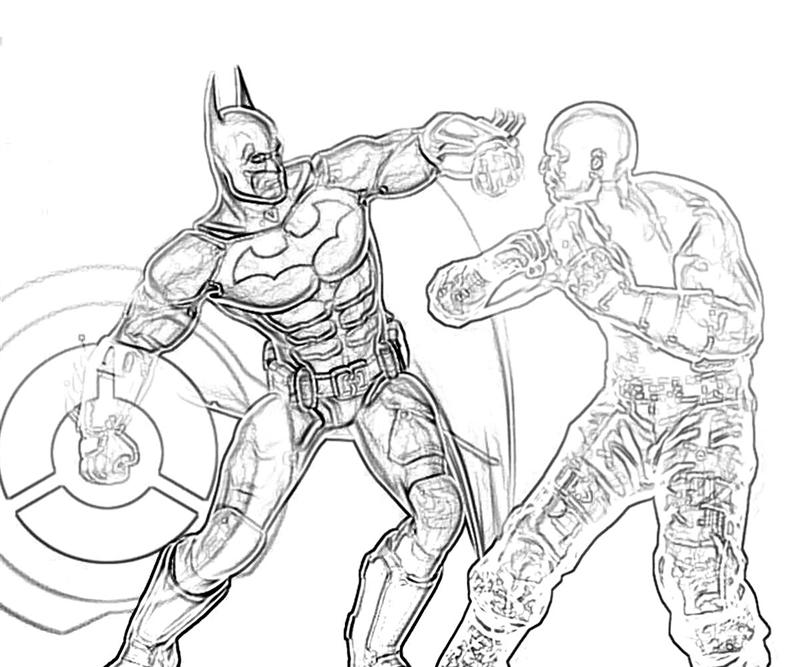 batman arkham coloring pages Batman The Dark Knight Coloring Pages  Batman Arkham City Coloring Pages