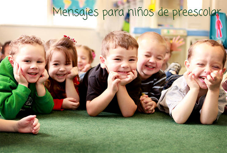 Mensajes para Niños de Preescolar