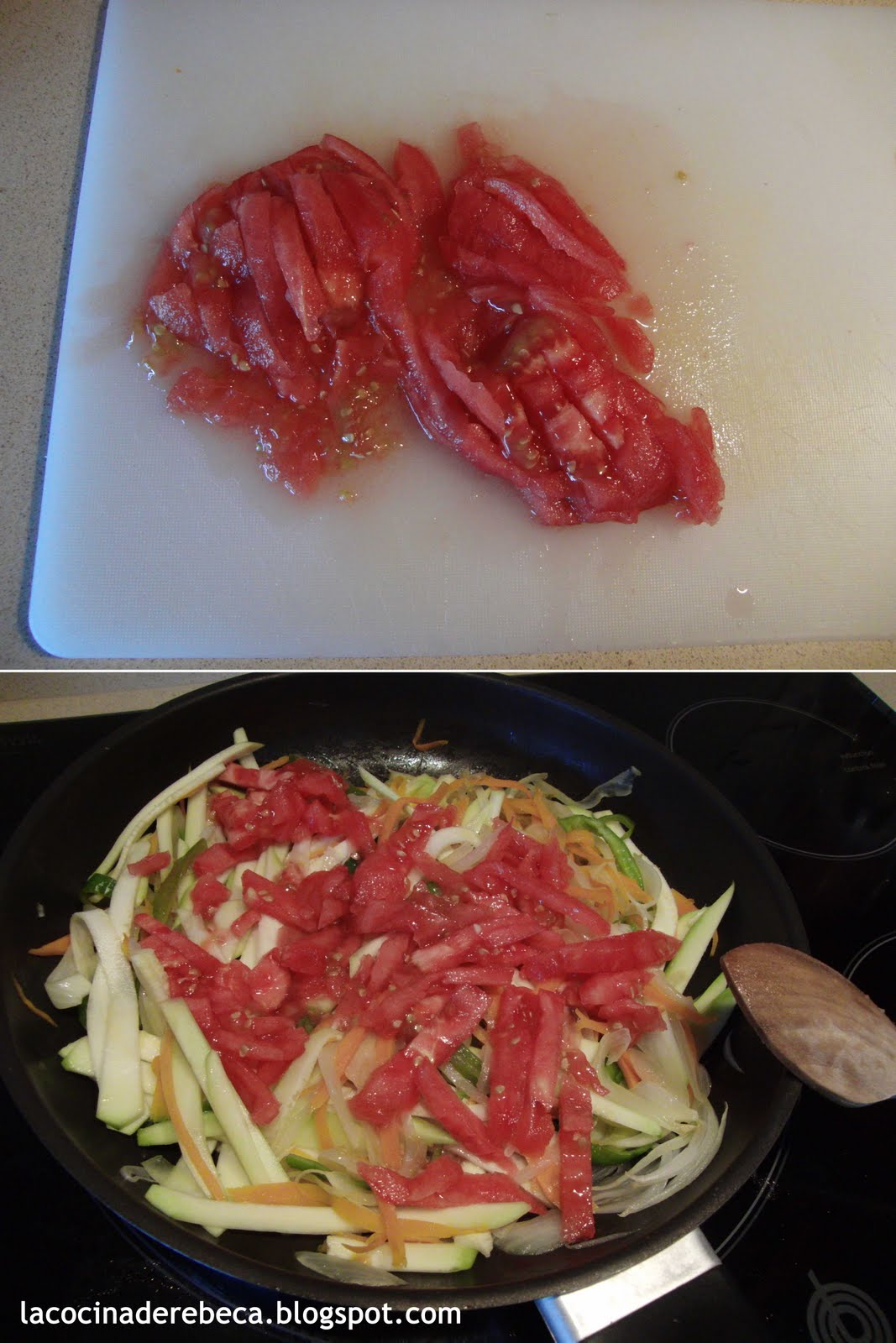 La cocina de rebeca merluza en papillote - Merluza a la papillote ...