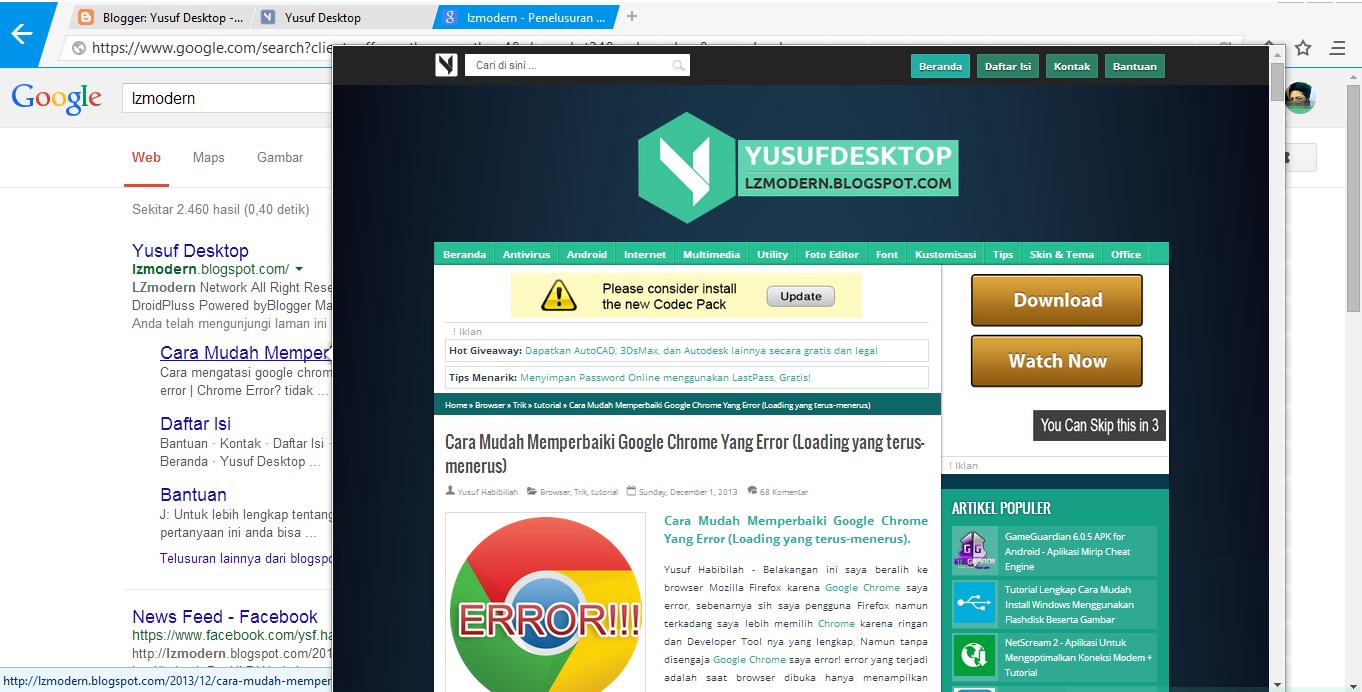 Browser paling pengertian