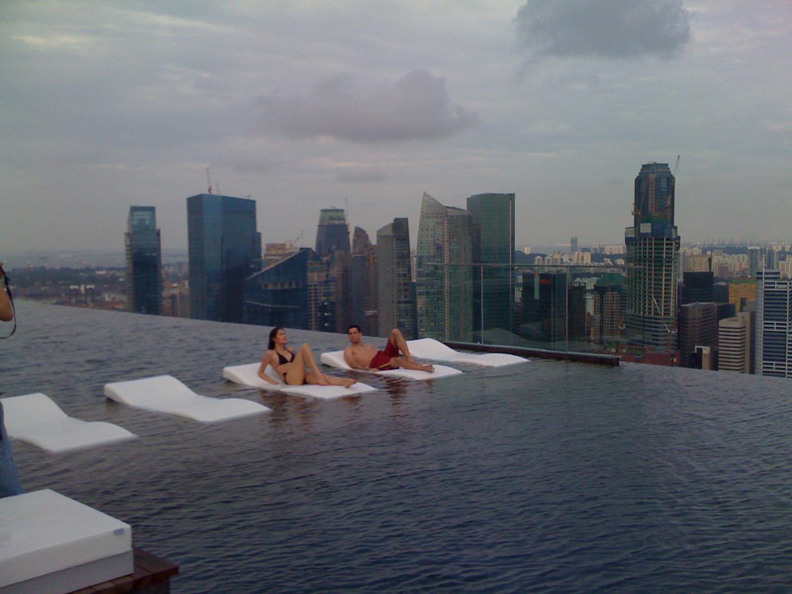 Scherman operadora de turismo marina bay sands cingapura - Singapore hotel piscina ...