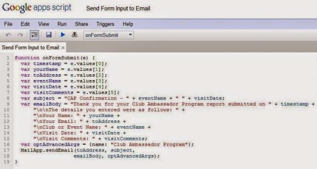 Google Scripting con Google Docs 2015