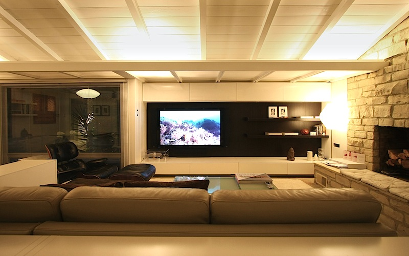 Living room wall system ikea hackers ikea hackers - Living room home theater ...