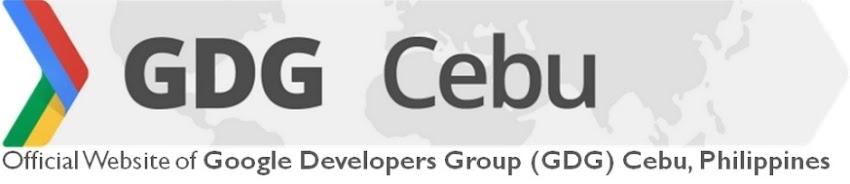 Google Developers Group (GDG) Cebu, Philippines