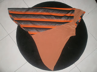 TUDUNG STRIPE(BELANG-Orange) Offer $15.90