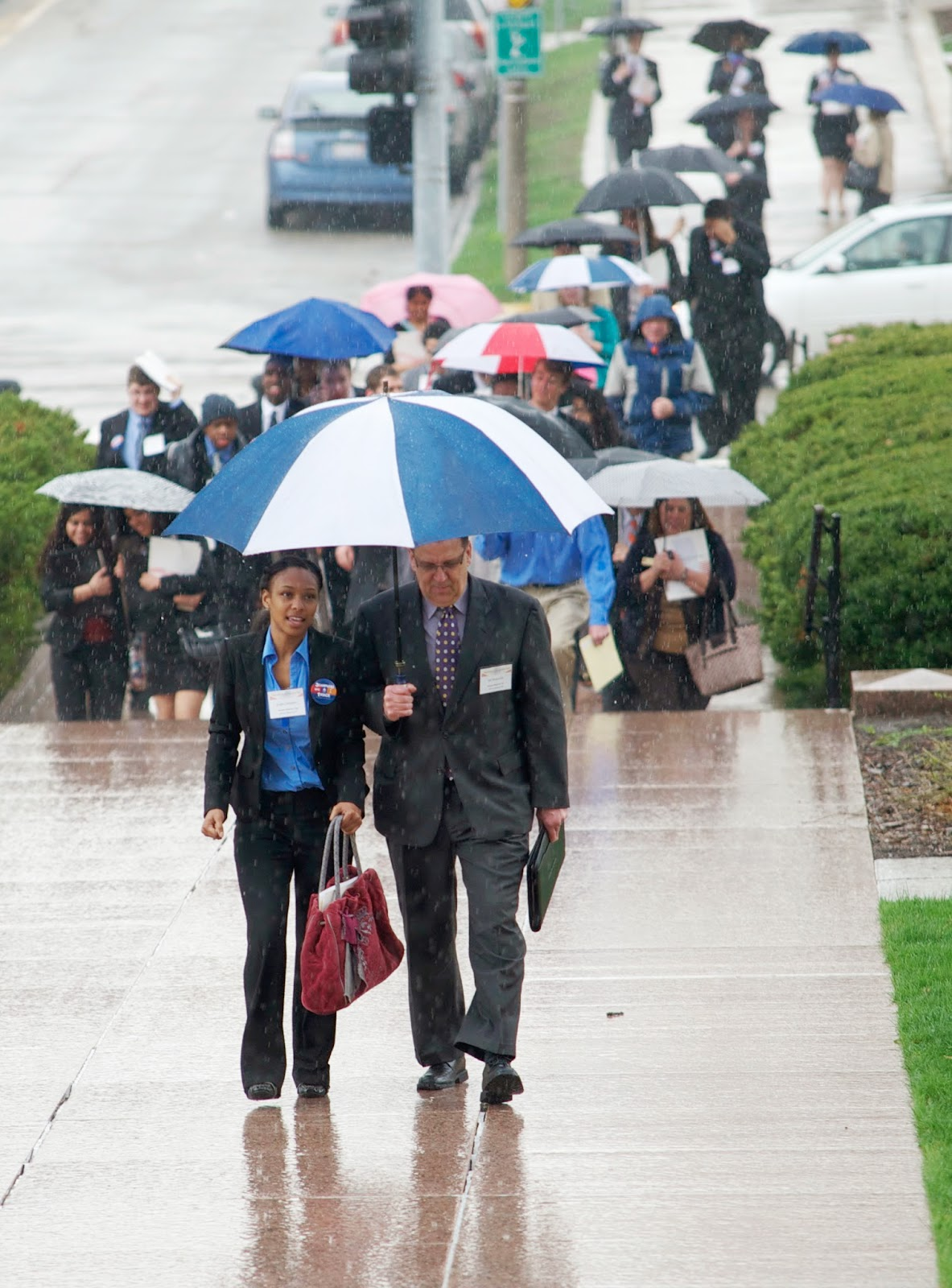 Jinger Sanders and Ed Wojcicki