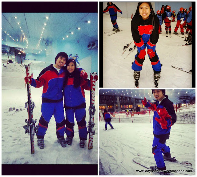 Discovery lessons for the Beginners at Ski Dubai's Ski School