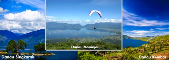 Nama Nama Danau di Sumatera Barat