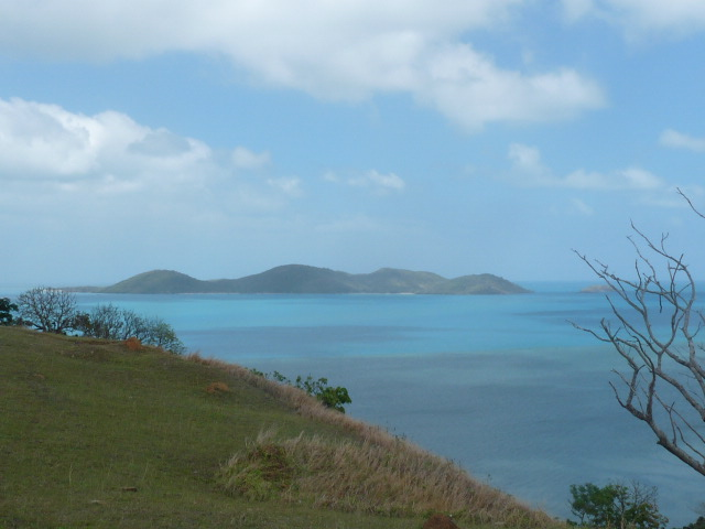 STANDING ON THURSDAY ISLAND