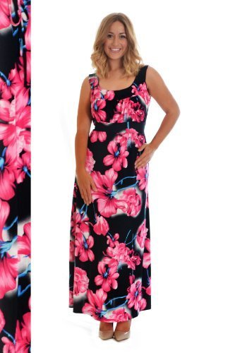 Celebrate Your Curves The Maxi Floral Dress In Plus Size
