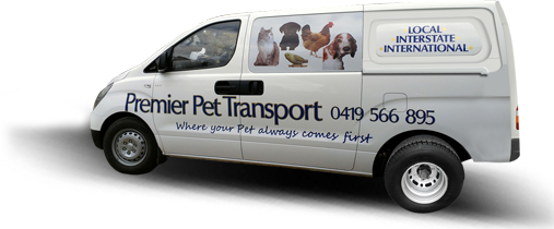 animal transportation services