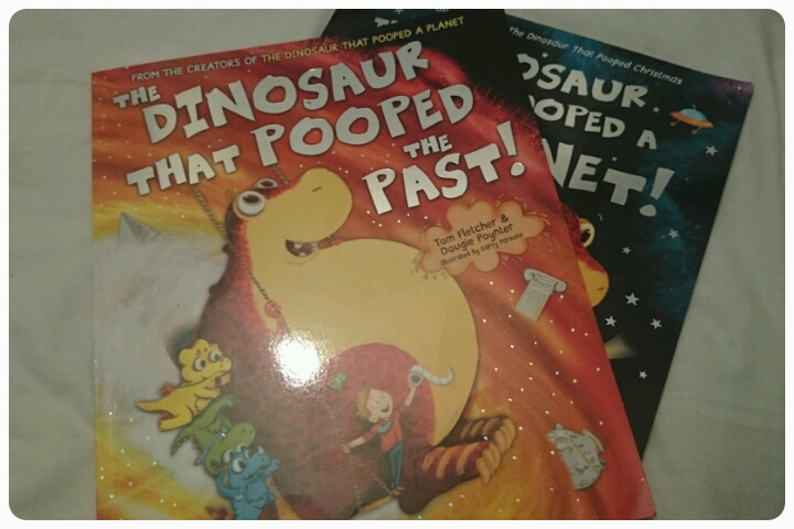 the dinosaur that pooped books