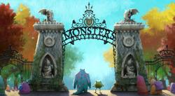 universidade de monstros