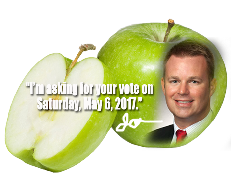 Jason Burdine is asking for your vote in the race for FBISD Position #1 on Saturday, May 6, 2017