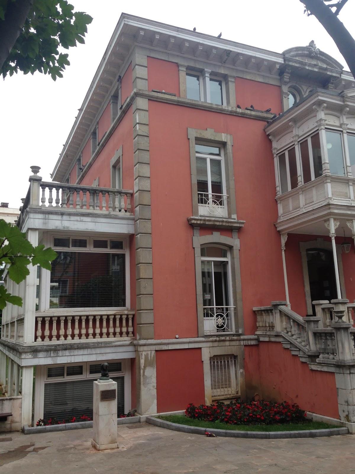Patrimonio arquitect nico de asturias palacete de la lila oviedo arquitecto juan miguel de la - Arquitectos en oviedo ...