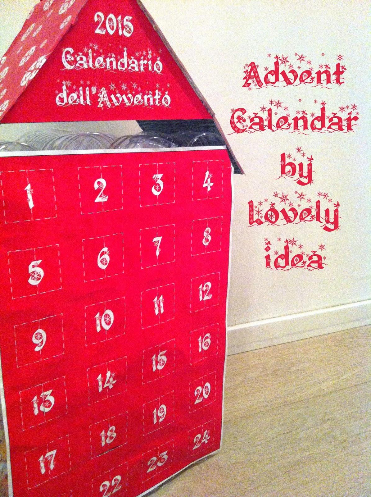 advent calendar diy bottles