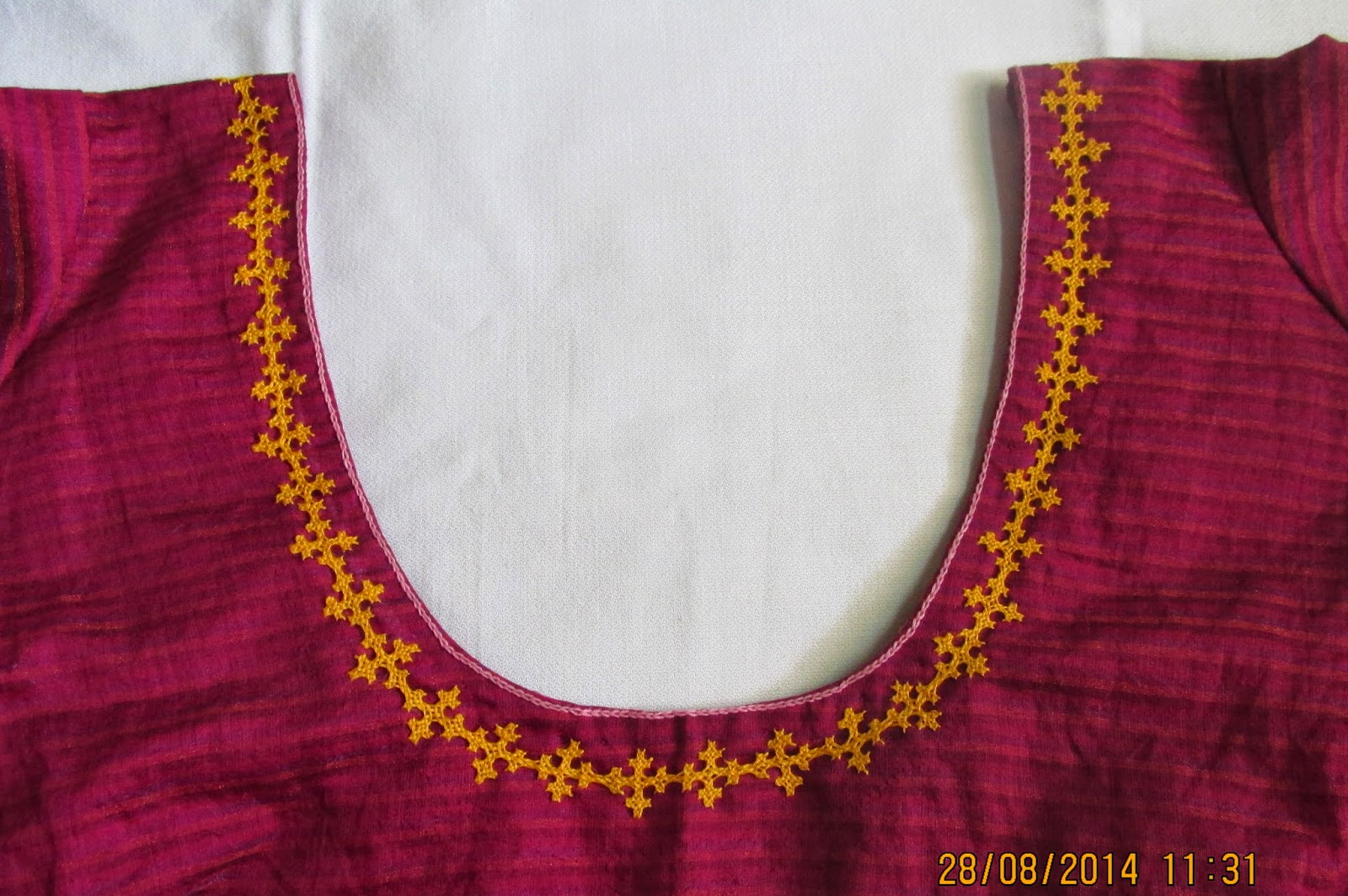 Simple embroidery designs for blouse imgkid