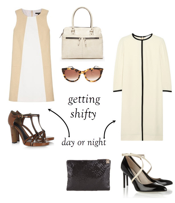 Marni shoes, pumps, shift dress, Tibi, Marni, BCBG clutch, Mondani bag
