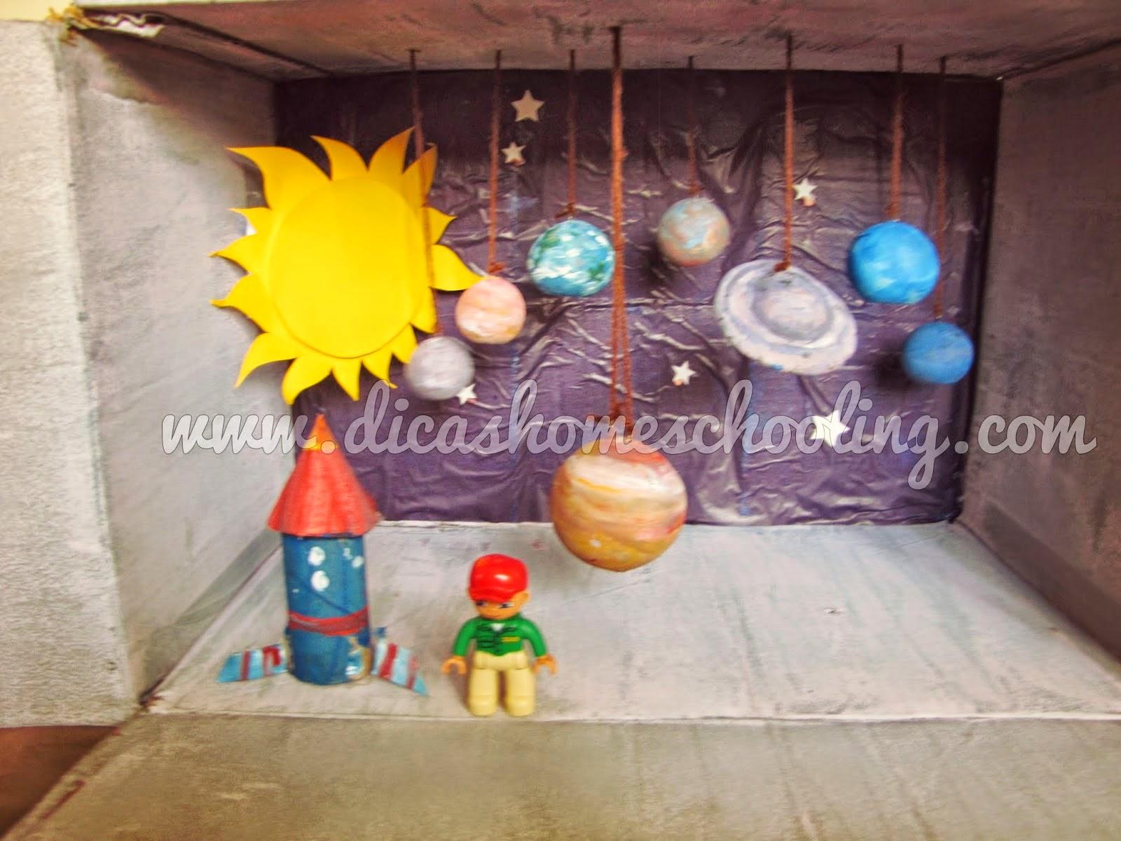 Como fazer Maquete do Sistema Solar PASSO A PASSO