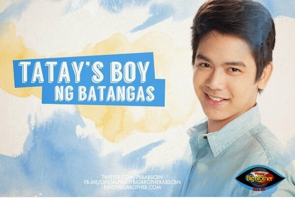 "PBB All In housemates photos - Joshua Garcia ""Tatay's Boy"""