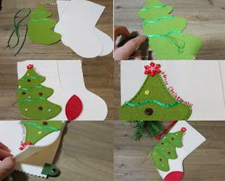 Botas de Navidad para Decorar, Costura Facil Paso a Paso