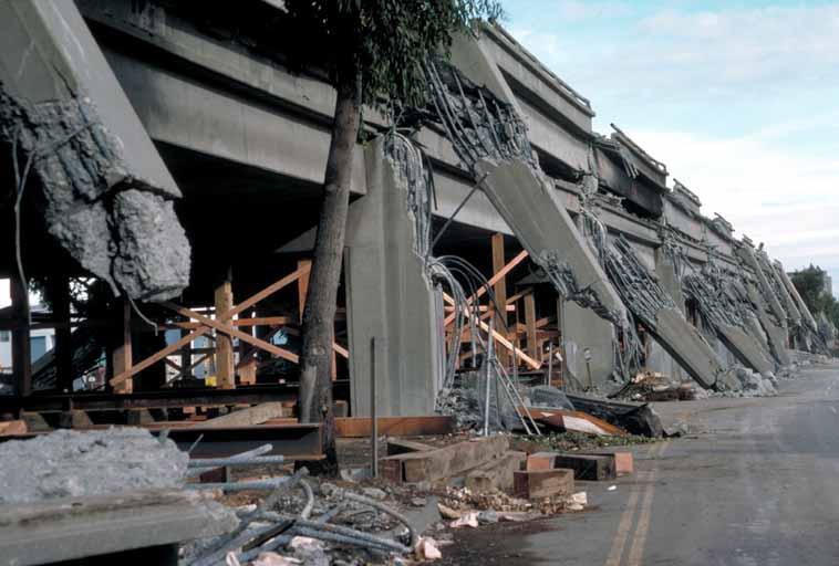 Loma Prieta Earthquake 1989 Damage