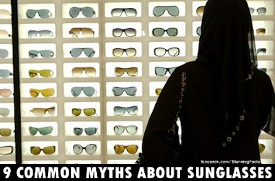 DEBUNKING 9 COMMON MYTHS ABOUT SUNGLASSES
