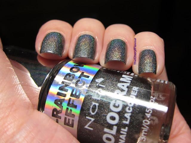 Swatch: Nabi Holographic Black