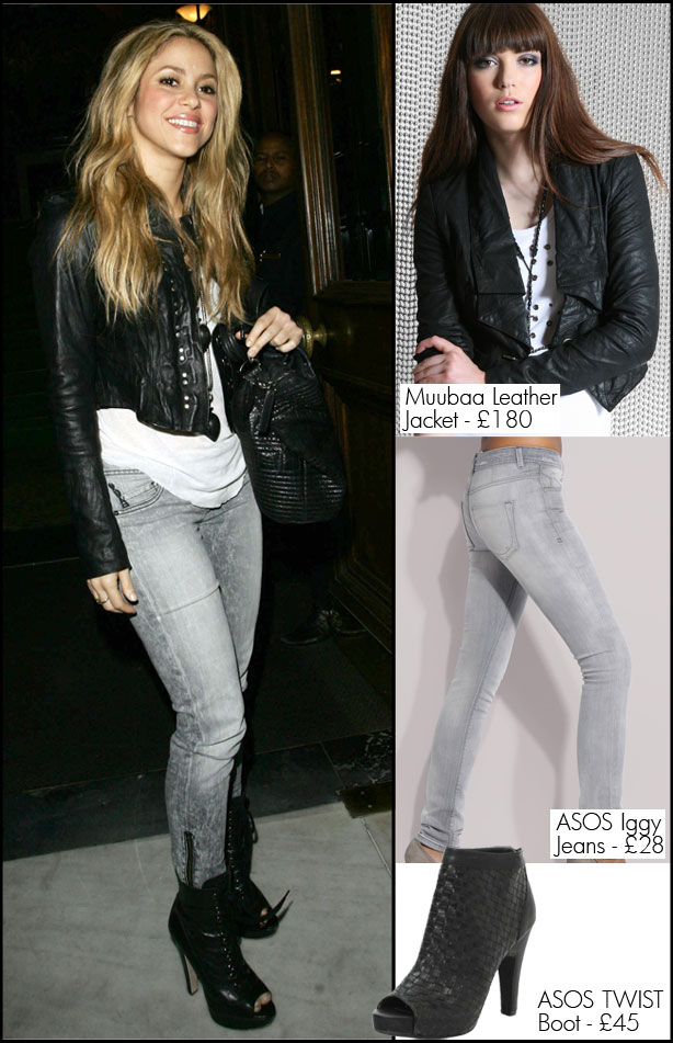 Shakira Fashion Style